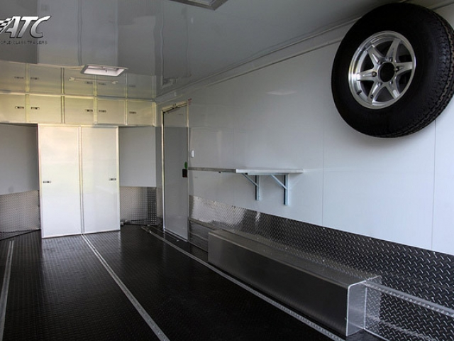 Custom Trailers, Car Hauler, Sport, Motorcycle, Aluminum