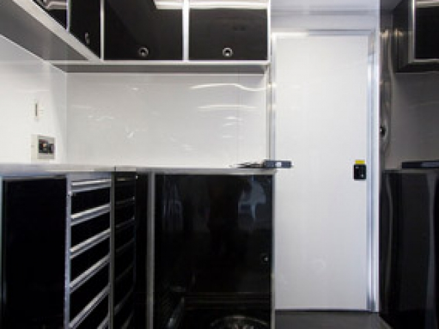Custom Trailers, Commercial Custom Trailers, Custom Electronics Cargo Trailer