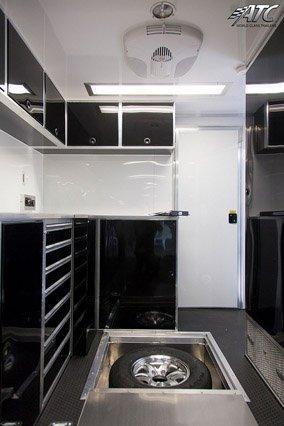 Custom Trailers, Commercial Custom Trailers, Custom Electronics Cargo Trailer