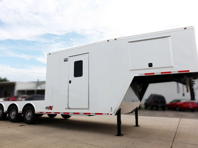 Custom Trailers, Gooseneck, Enclosed, Flatbed, Combo