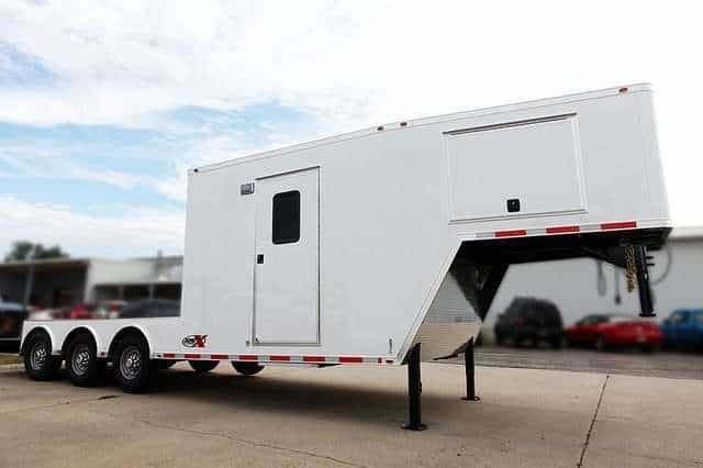 Custom Flatbed Trailer Office