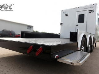 Semi, Trailers, Custom, Flatbed, Office