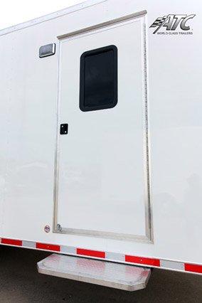 Semi, Trailers, Custom, Flatbed, Office
