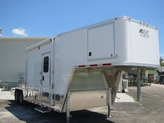 Custom Gooseneck Office Trailer