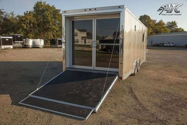 Custom Motorcycle Trailer Living Quarters