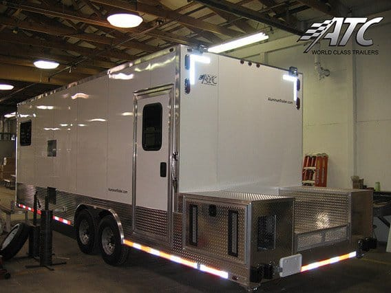 Custom Oil Field Locker Room Trailer