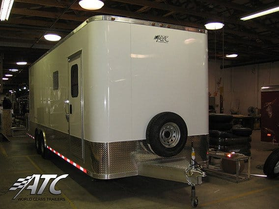 Custom Trailers, Oil, Gas, Field, Locker, Room
