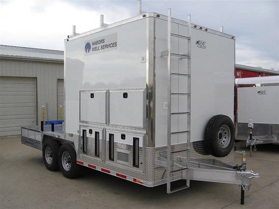 Custom Tool Storage Oil Trailers Oil Amp Gas Trailers