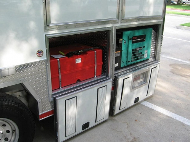 Custom Oilfield Tool Storage Oil Trailers