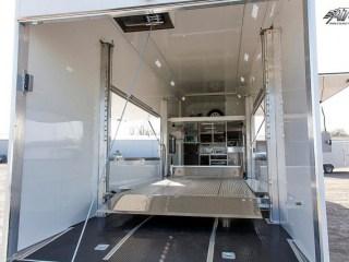 Custom Trailers,Car Hauler, Sport, Race, with Living Quarters, Custom Stacker