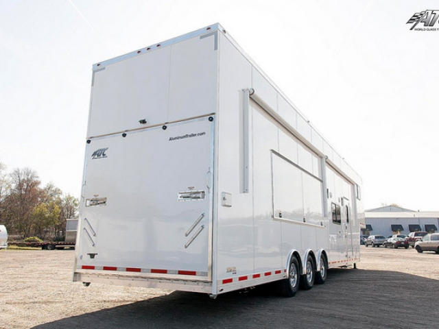 Custom Trailers,Car Hauler, Sport, Race, with Living Quarters, Custom Stacker