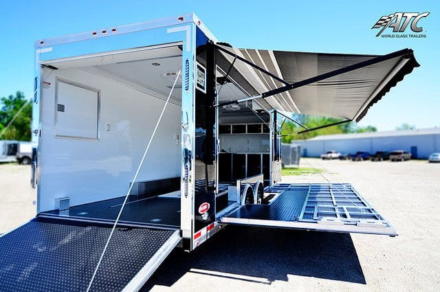 Custom Trade Show Stage Trailer Mobile Marketing Trailers