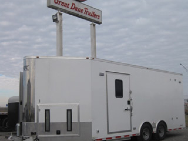 Custom Trailers, Commercial Custom Trailers, Custom Trailer Crane Hoist