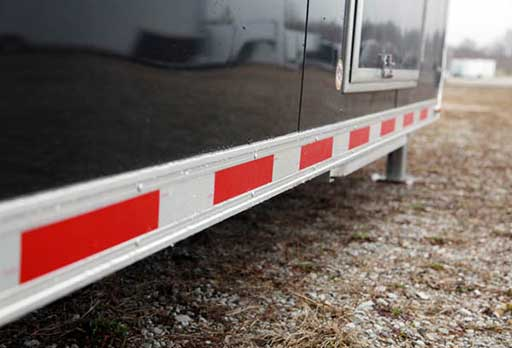 DOT Tape, Exterior, Custom Trailer Options