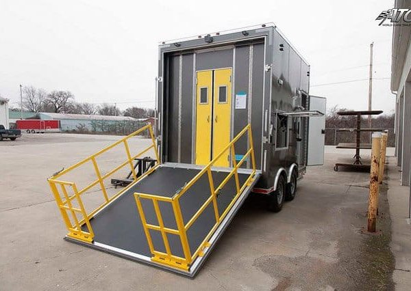 Emergency Management - Hazmat & Decon - Decon Shower Trailer