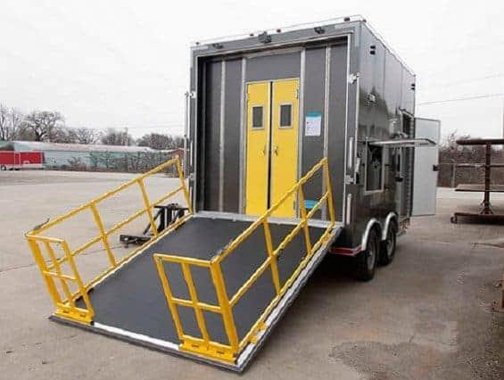 Custom Trailers, Emergency Management, Hazmat, Decontamination, Shower