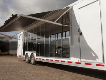 Display Windows, Windows, Vents, Custom Trailer, Options