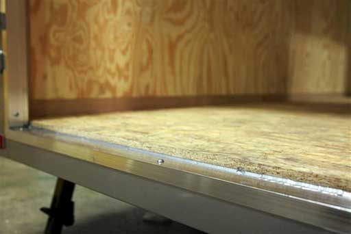 Double Advantech Plywood, Flooring, Custom Trailer Options