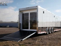 Double Glass Doors, Custom Trailer Options