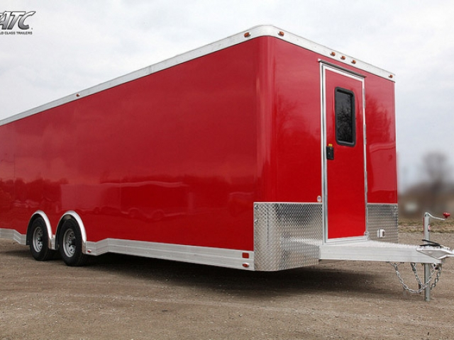 Custom Trailer, Car Hauler, Sport, Bumper Pull Race, Drag Car Aluminum