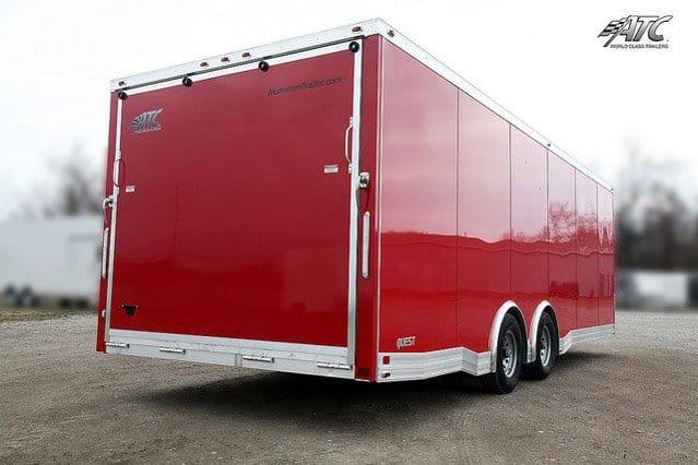 Custom Trailer, Car Hauler, Sport, Bumper Pull Race, Drag Car Aluminum