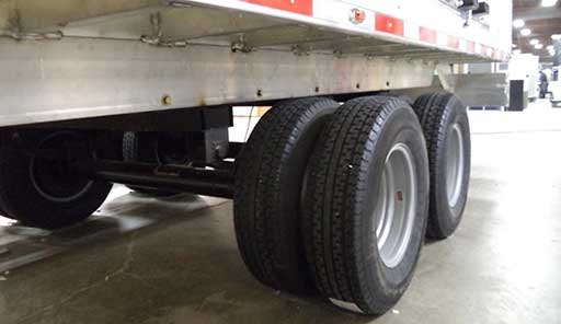 Dual Wheel 12k Axles, Tires, Custom Trailer Options