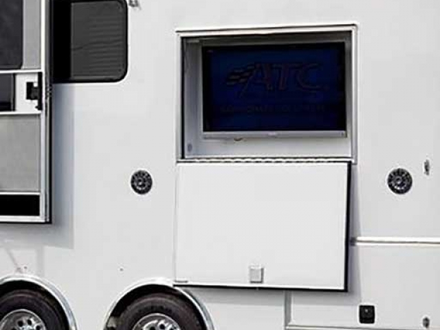 Exterior TV, Electronics Computers Phones AV, Custom Trailer Options