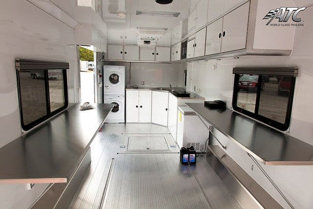 Emergency Response Trailer with Living Quarters
