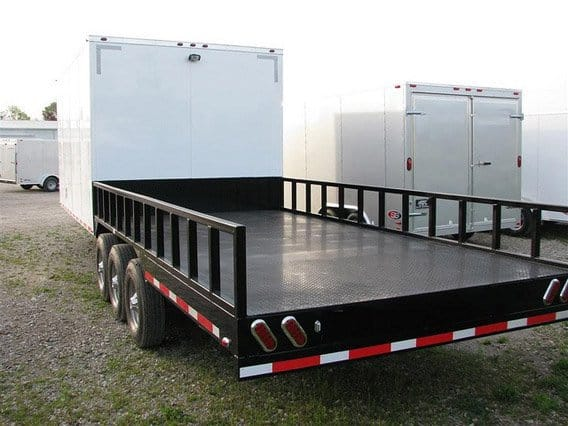 Enclosed and Flatbed Combo, Trailer Sizes, Custom Trailer, Options