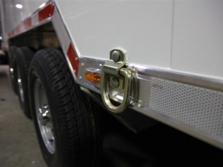 Exterior Tie Down Ring, Tie Down, Custom Trailer, Options