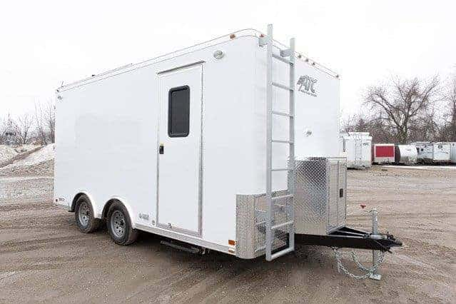 FBI, 8.5x16, 16 ft, Mobile Command Trailer, Mobile Command Center, Custom Trailers, MO Great Dane