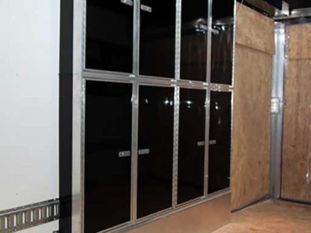 Fender Well Cabinet Tandem Axle, Storage, Custom Trailer Options