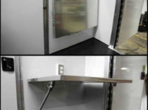 Folding Counter, Cabinets, Storage, Custom Trailer Options
