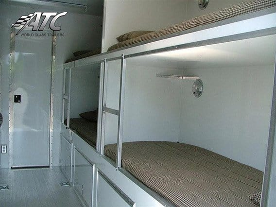 Custom Trailers,Emergency Management,  Bunk ,Bath, FR Amusement, Bunkbed