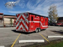 Fire Department Response Rescue Trailer