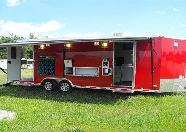 Emergency Management - Rescue Trailers - Fire Department Response Rescue Trailer
