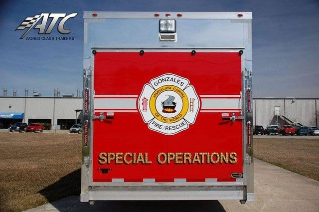 Custom Trailers, Emergency Management, Rescue, Fire, Rescue Operations