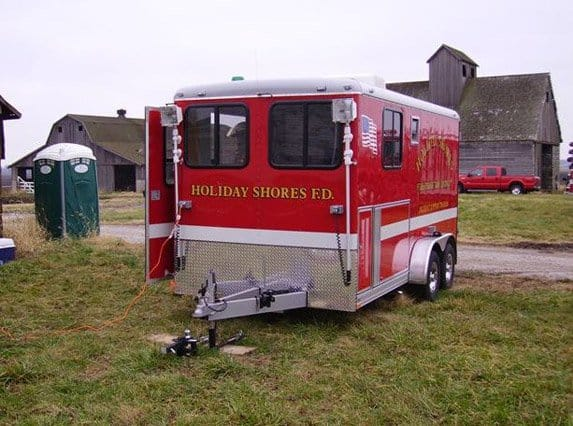 Fire Rescue Trailer Emergency Management Mo Great Dane