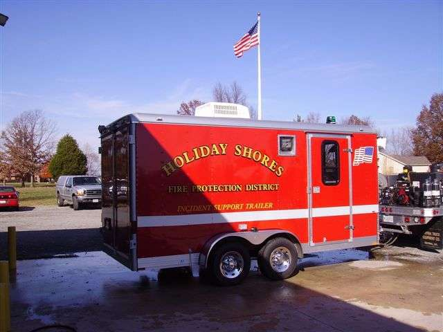 Fire Rescue Trailer
