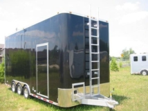 Fixed Ladder, Roof and Ladder, Custom Trailer, Options