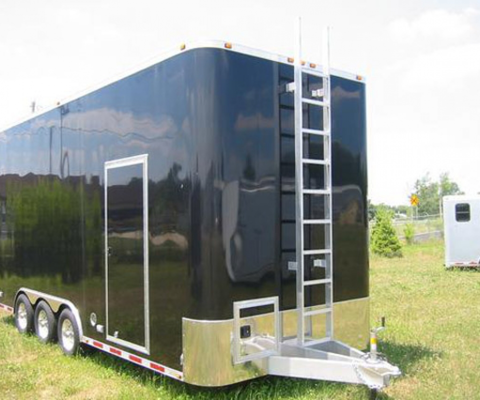 Roof, Ladder, Custom Trailer, Options