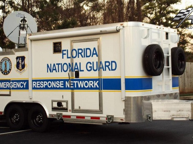 Custom Trailers, Emergency Management, Communications, Florida, Satellite