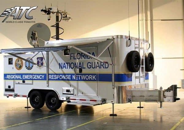 Emergency Management - Communications Trailer - Florida Satellite Trailer