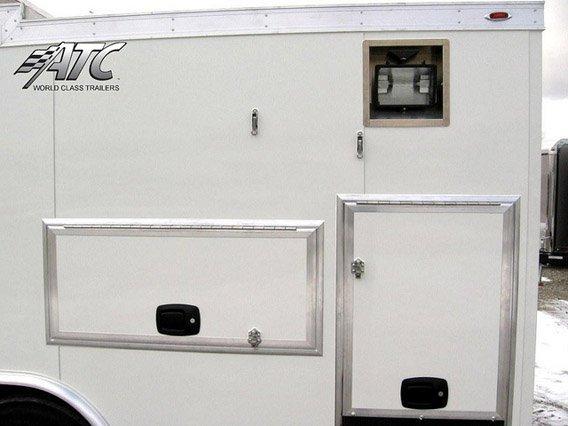 Custom Trailers, Emergency Management, Communications, Florida, Satellite