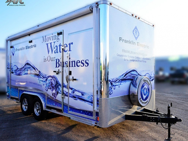 Custom Trailers, Mobile Marketing, Franklin Electric