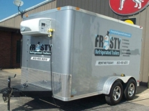 Freezer Refrigeration Units, Heating System, Air Conditioning System, Custom Trailer, Options