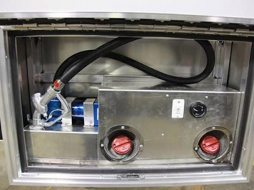 Fuel Filling Station, 24 Gallon Tank, Gas, Generator, Custom Trailer, Options