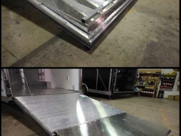 Full Width Ramp Extension, Door Accessories, Custom Trailer Options