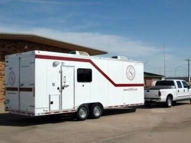 Custom Trailers,  Laboratory, Geologist, Lab, Wellsite, Testing