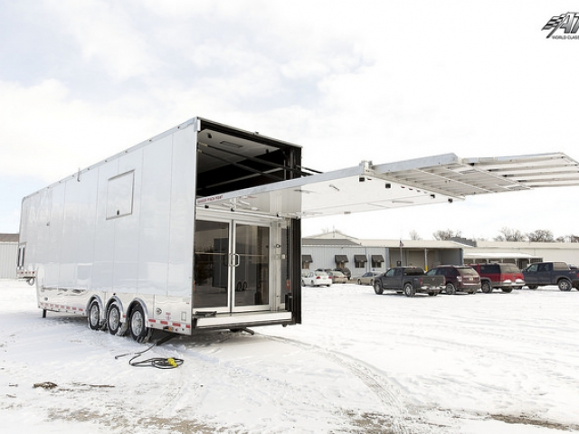 Costum Trailers, Car Hauler, Sport, Stacker, Gooseneck, Aluminum, Liftgate